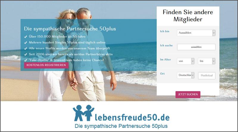 Lebensfreude50 partnersuche